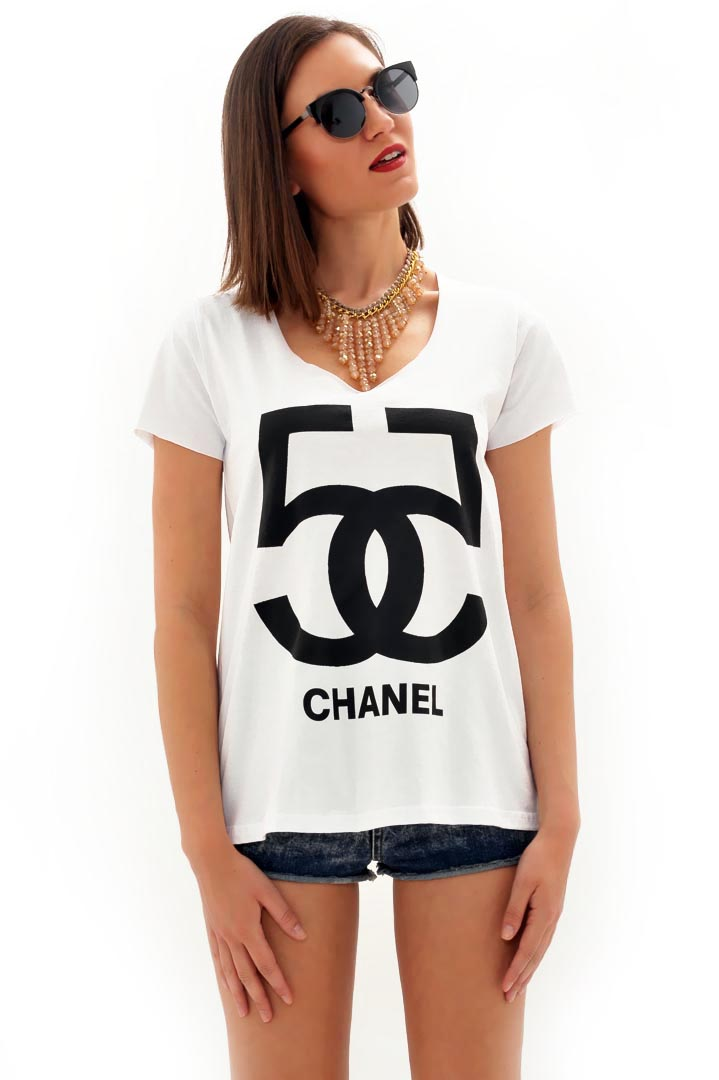 Chanel 5 μπλουζάκι greek store   t shirts  greek store   ολα 5 7  greek store   ρουχα   tops   t sh