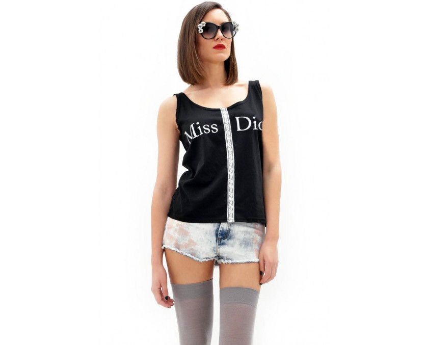 Miss Dior t-shirt in black