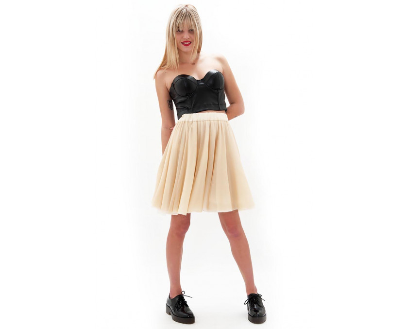 Pastel tulle skirt in 50's look