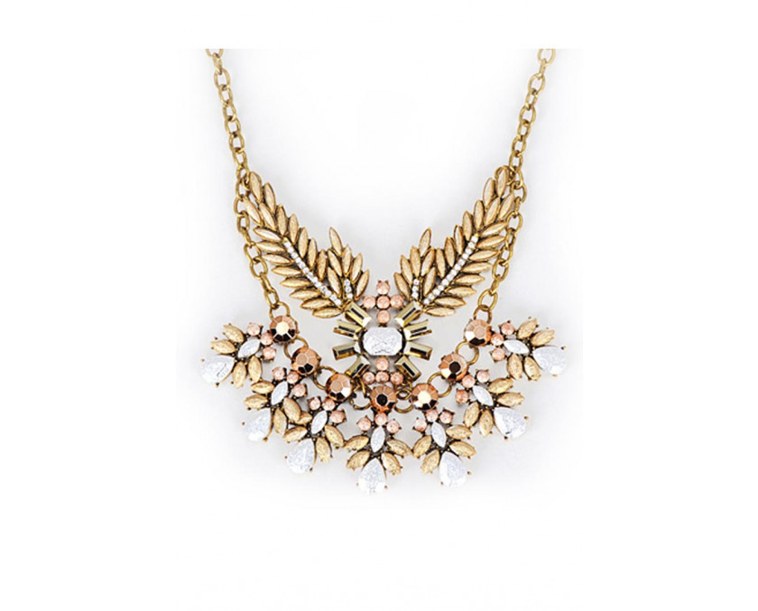 Statement bling necklace