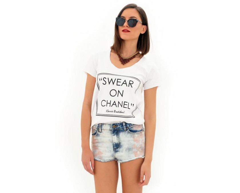 Swear on Chanel t-shirt