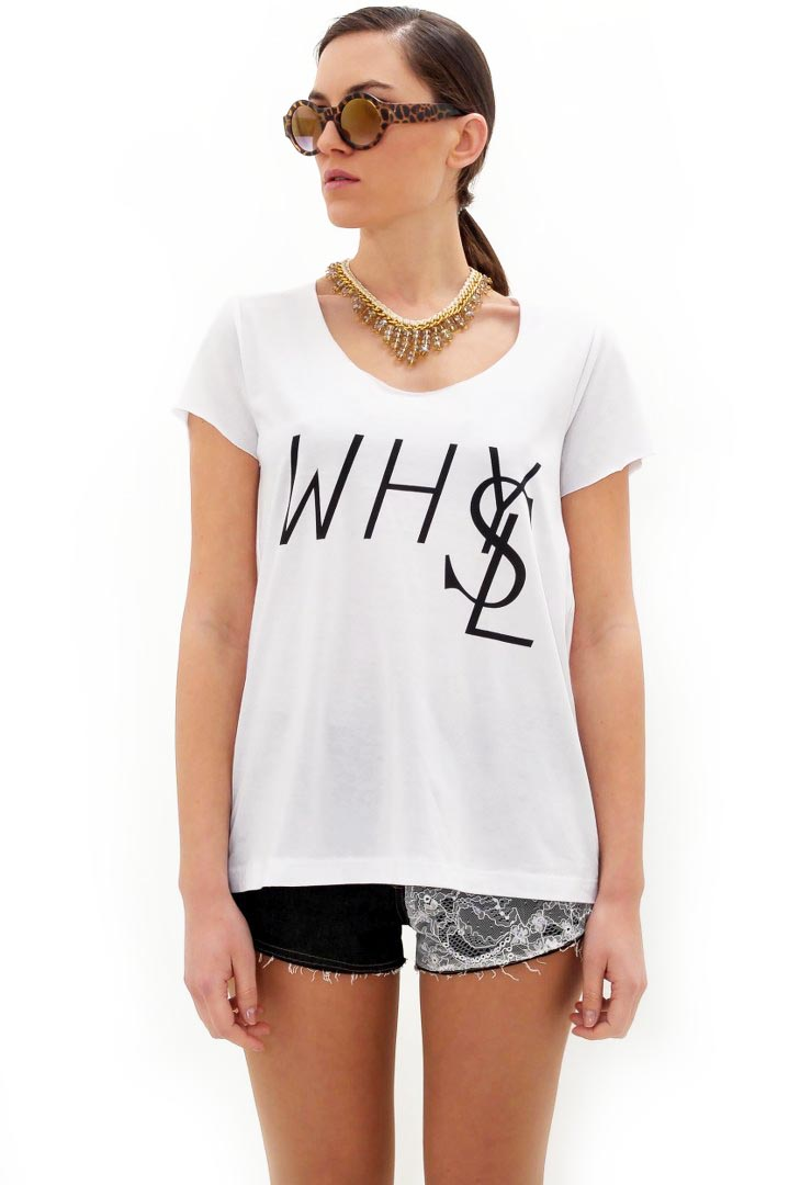 Why YSL μπλουζάκι greek store   t shirts  greek store   ρουχα   tops   t shirts  greek store   ρου